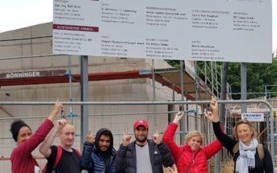 """2. Spendenlauf der MGG: """"Helden laufen für den guten Zweck"""" in Marl."""